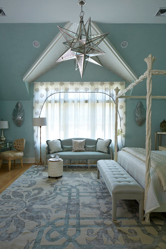 hton designer showhouse 2015 simplified bee 13569 | htons blue bedroom