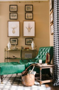 chic countryside living room // kimberly schlegal Whitman // via @simplifiedbee