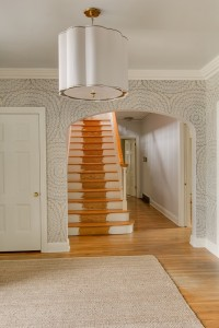 foyer staircase // @simplifiedbee