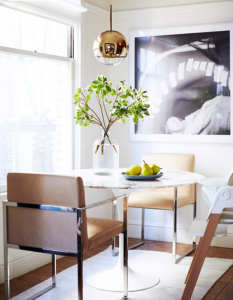small dining space // san francisco apartment // rue magazine