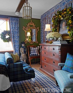 2016 Decor Trends // Mad for Plaid // via @simplifiedbee