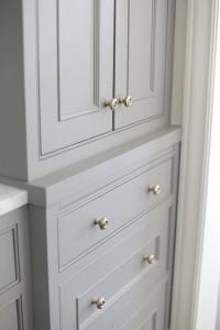 gray kitchen cabinets // H2 Design + Build